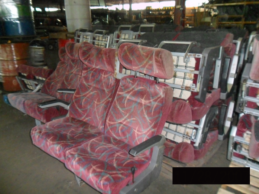 Bus Seats Used
